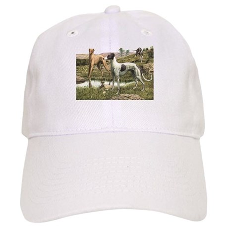 Greyhound Art Cap