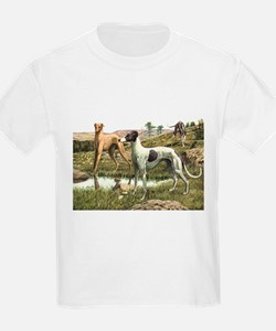 Greyhound Art T-Shirt