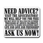 Need Advice? Mousepad
