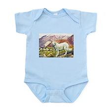 Great Pyrenees Art Infant Bodysuit