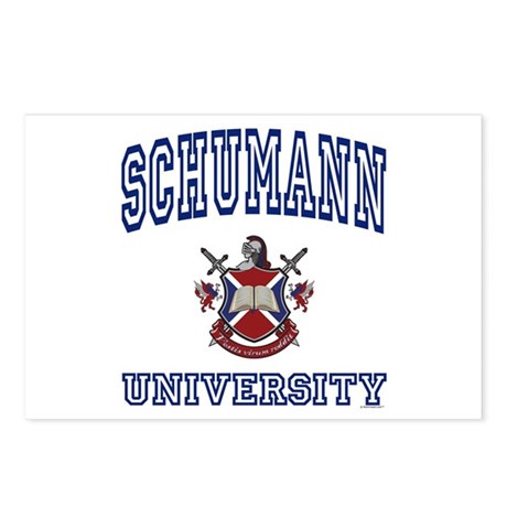 SCHUMANN University Postcards (Package of 8)