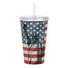 4th of July Acrylic Tumblers