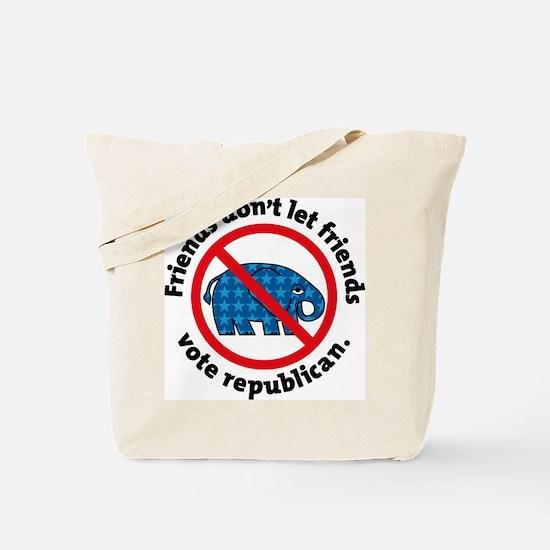 DON'T VOTE REPUBLICAN Tote Bag