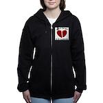 Heart In Alabama Women's Zip Hoodie