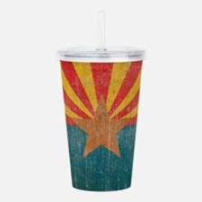 Vintage Arizona Acrylic Double-wall Tumbler