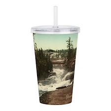 Vintage Yosemite Valley Acrylic Double-wall Tumble