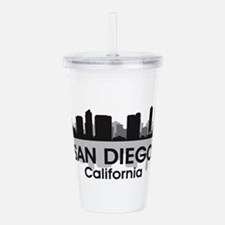 San Diego Skyline Acrylic Double-wall Tumbler