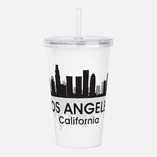 Los Angeles Skyline Acrylic Double-wall Tumbler