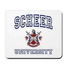 SCHEER University Mousepad