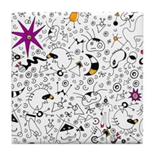 Inspired by Miro Tile Coaster