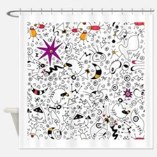 Inspired by Miro Shower Curtain