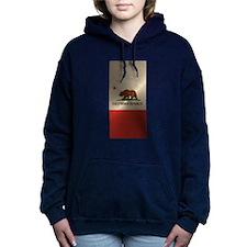 California Flag Women's Hooded Sweatshirt