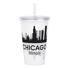 Chicago Skyline Acrylic Double-wall Tumbler