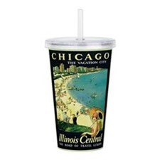 Proehl Chicago Acrylic Double-wall Tumbler
