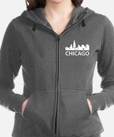 Chicago Skyline Women's Zip Hoodie