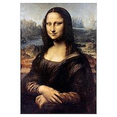 Mona Lisa, 1501, Leonardo da Vinci, Louvre. Poster