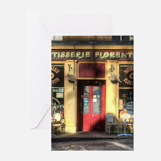 Old Fashioned store Greeting Cards
