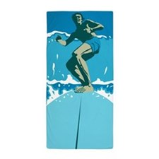 Surfing Beach Towel