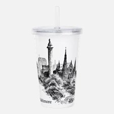 Cute United states america Acrylic Double-wall Tumbler