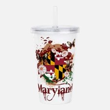 Butterflies Maryland Acrylic Double-wall Tumbler