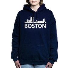 Boston Skyline Women's Hooded Sweatshirt