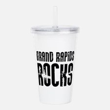 Grand Rapids Rocks Acrylic Double-wall Tumbler