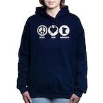 Peace Love Minnesota Women's Hooded Sweatshirt