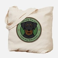 Love My Beauceron Tote Bag