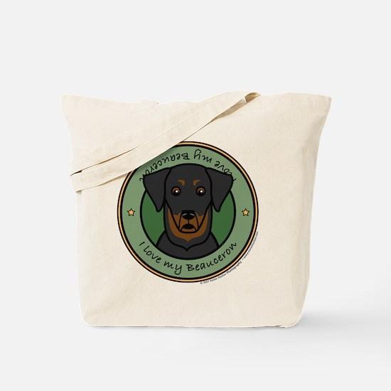Love My Beauceron Tote Bag