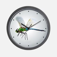 Dragonfly 3 Wall Clock