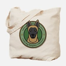 Love My Malinois Tote Bag