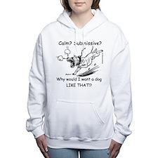 No Zombie Dogs! Women's Hooded Sweatshirt