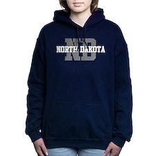 ND North Dakota Women's Hooded Sweatshirt