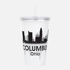 Columbus Skyline Acrylic Double-wall Tumbler