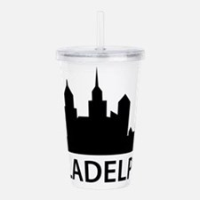 Philadelphia Skyline Acrylic Double-wall Tumbler