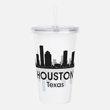 Houston Skyline Acrylic Double-wall Tumbler