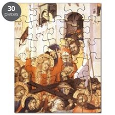 Christ carrying cross to Calvary. Simone Ma Puzzle