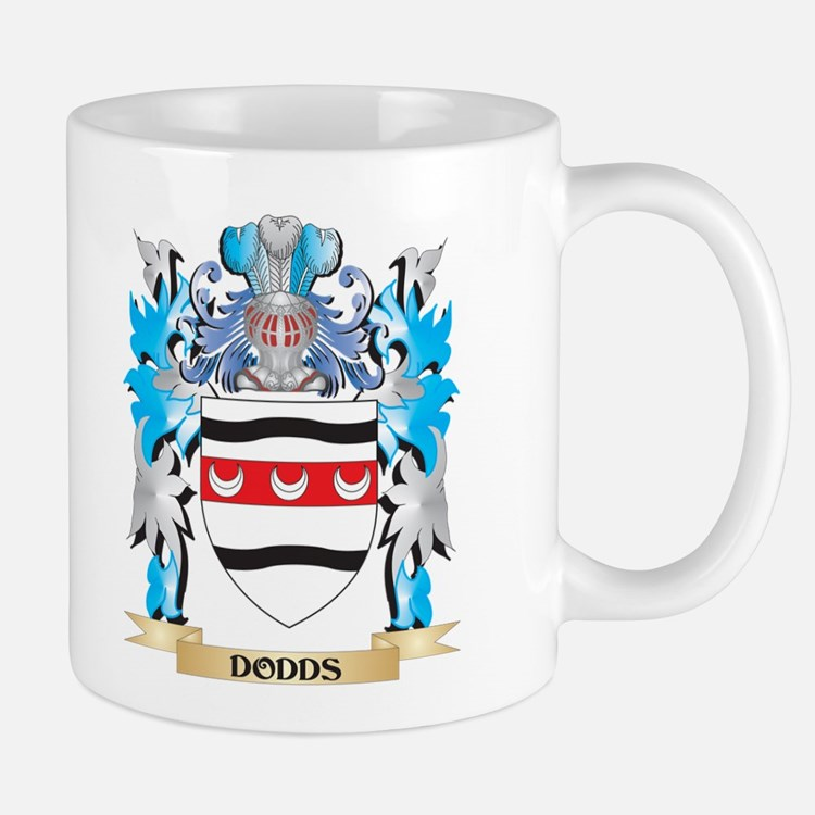 Dodds Coat of Arms - Family Crest Mugs