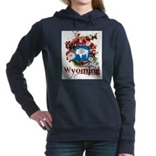 Butterfly Wyoming Women's Hooded Sweatshirt