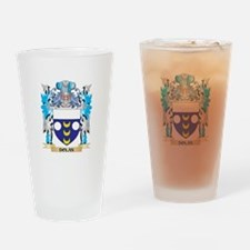 Funny Family crest Drinking Glass