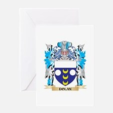 Dolan Coat of Arms - Family Crest Greeting Cards