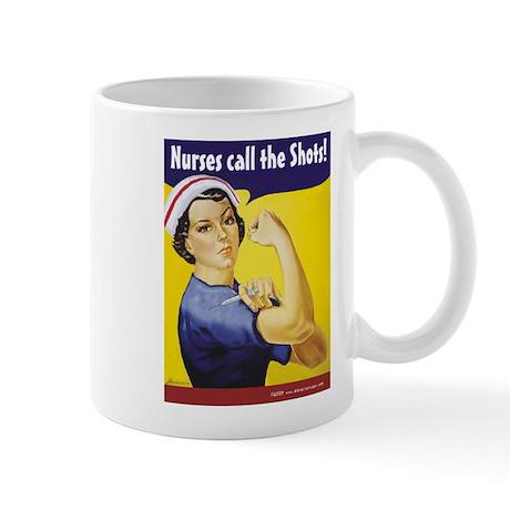 Nurses call the Shots! Mug