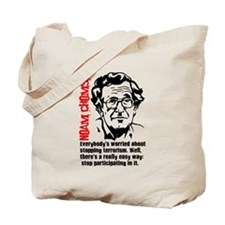 Cute Noam chomsky Tote Bag