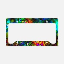 Coral Reef License Plate Holder