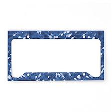 Little Swimmers - Blue License Plate Holder
