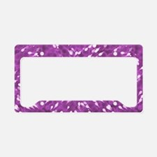 Little Swimmers - Pink License Plate Holder