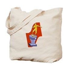Soccer Trophy Tote Bag
