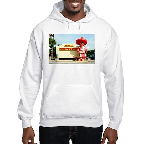 Pedro & Restroom sign, SC Hooded Sweatshirt
