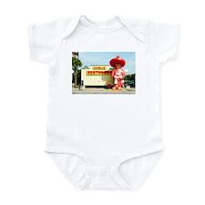 Pedro & Restroom sign, SC Infant Bodysuit