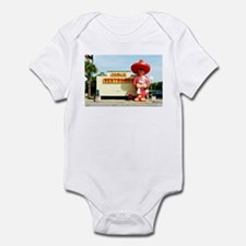 Pedro & Restroom sign, SC Infant Bodysuit